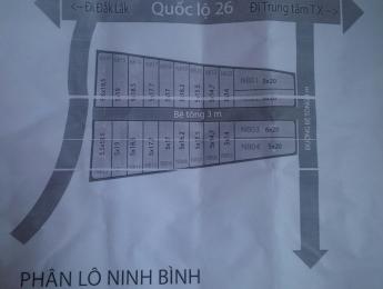 Đất xã Ninh Bình - Ninh Hòa