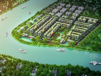 Bán đất quận 9 khu dân cư An Việt veiw hai mặt tiền sông